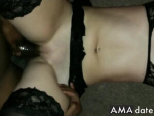 Gorgeous korean amateur couple video sex